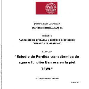informe grafeno tewl